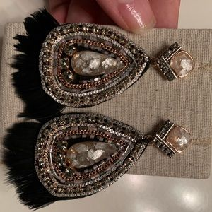 Stella & Dot Constantine Statement Earrings